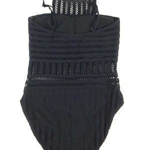 Kenneth Cole Swim - Kenneth Cole Women's Bandeau One Piece Swimsuit